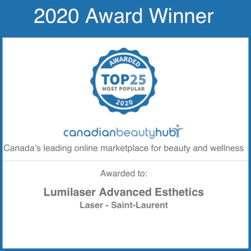 Awards, reviews for Lumilaser, Montreal, Quebec, Canada.