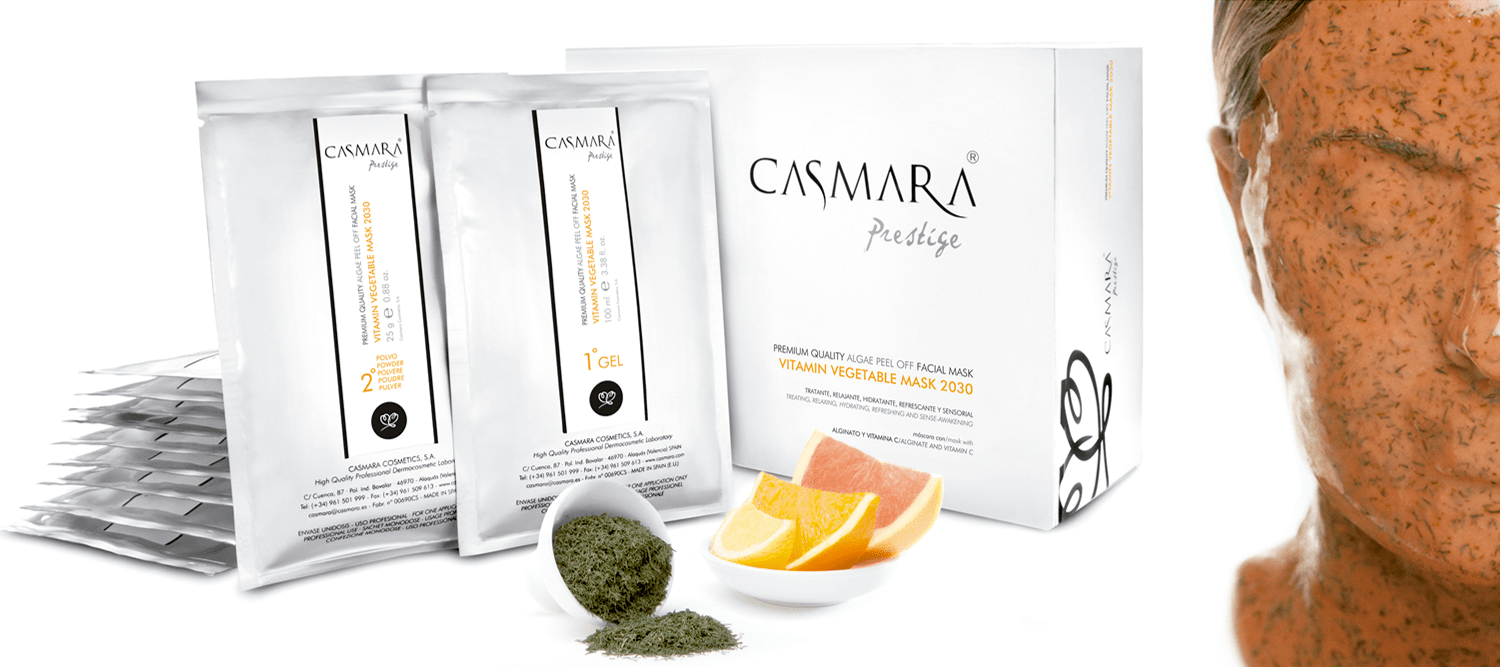 Casmara Masks Algae Peel Off are now available at Lumilaser, Montreal, Quebec, Canada