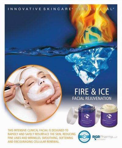 Fire and Ice Red Carpet Facial in Montreal, Canada at Lumilaser